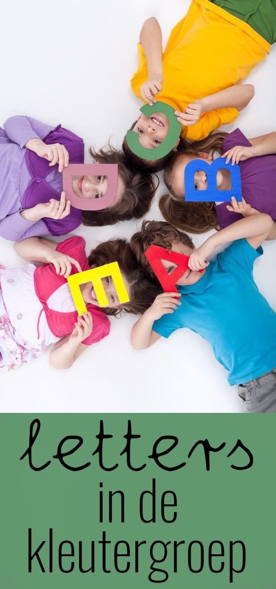 Letters in de kleutergroep