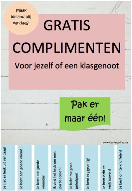 complimentenposter