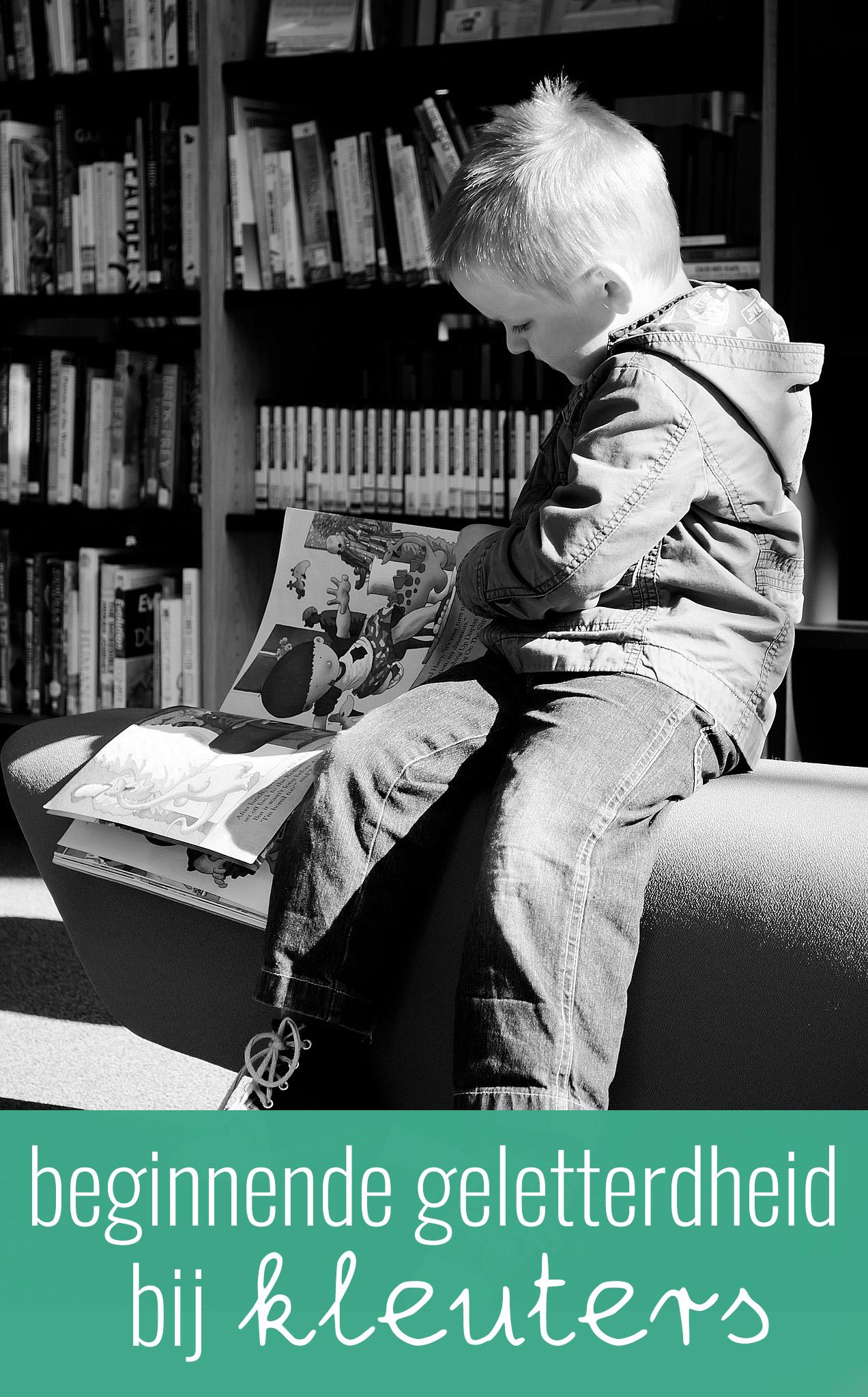 Beginnende geletterdheid bij de kleuters is belangrijk. Het geeft de kans om kinderen een betere start in groep 3 te laten maken bij het leren lezen.