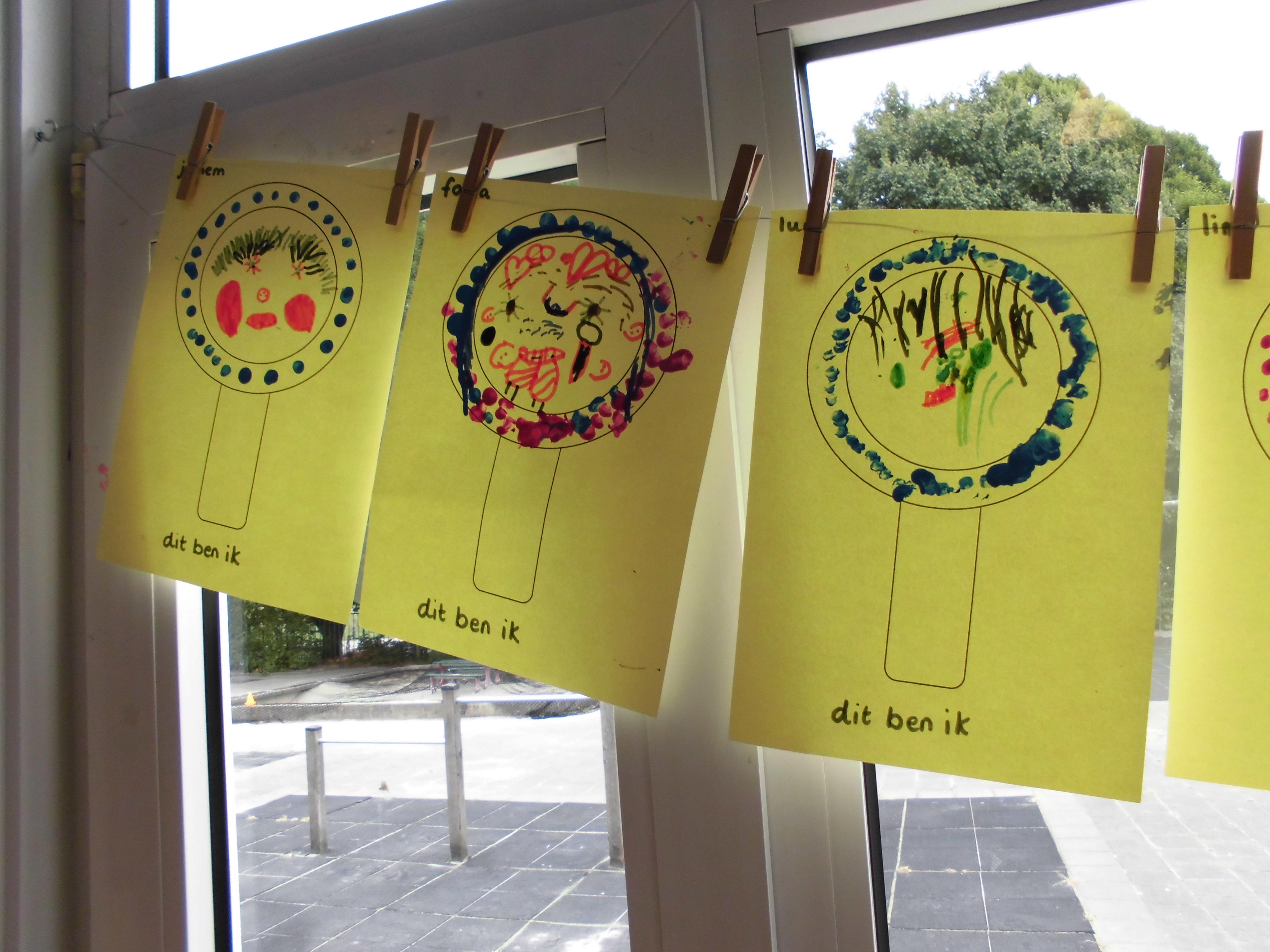 Werkjes thema 'Welkom op school'