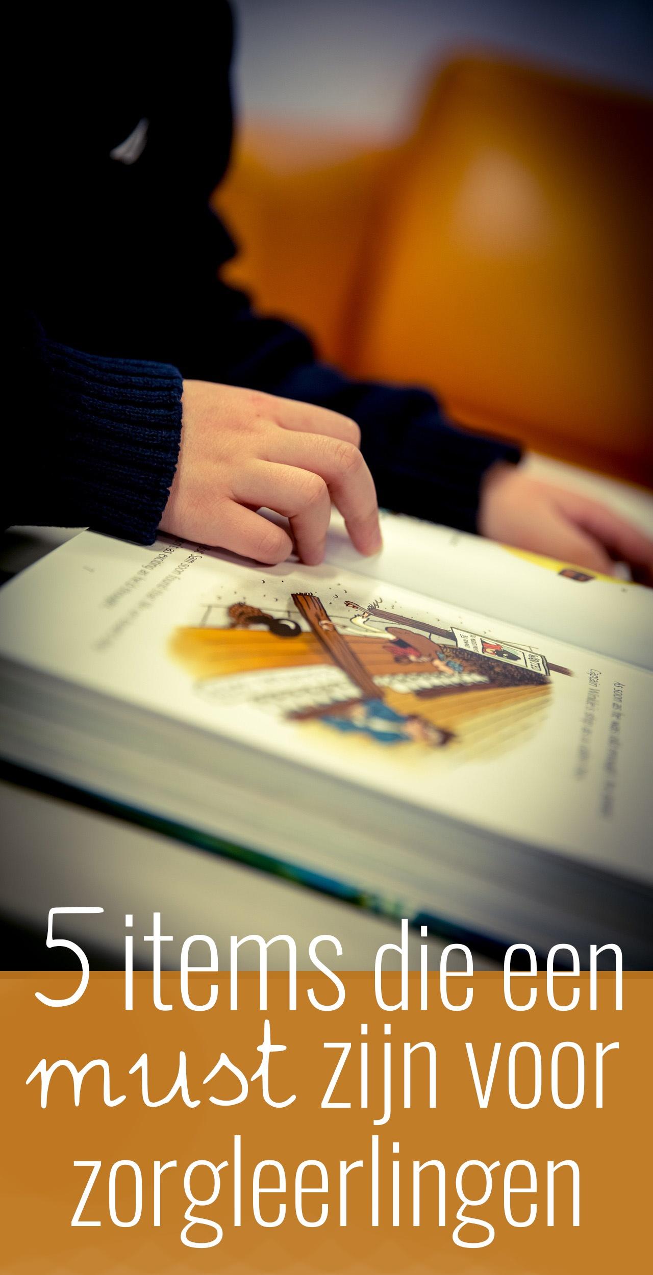 Er zijn ontzettend handige hulpmiddelen om het leren voor zorgleerlingen makkelijker en overzichtelijker te maken. In dit artikel wil ik je 5 tips geven.