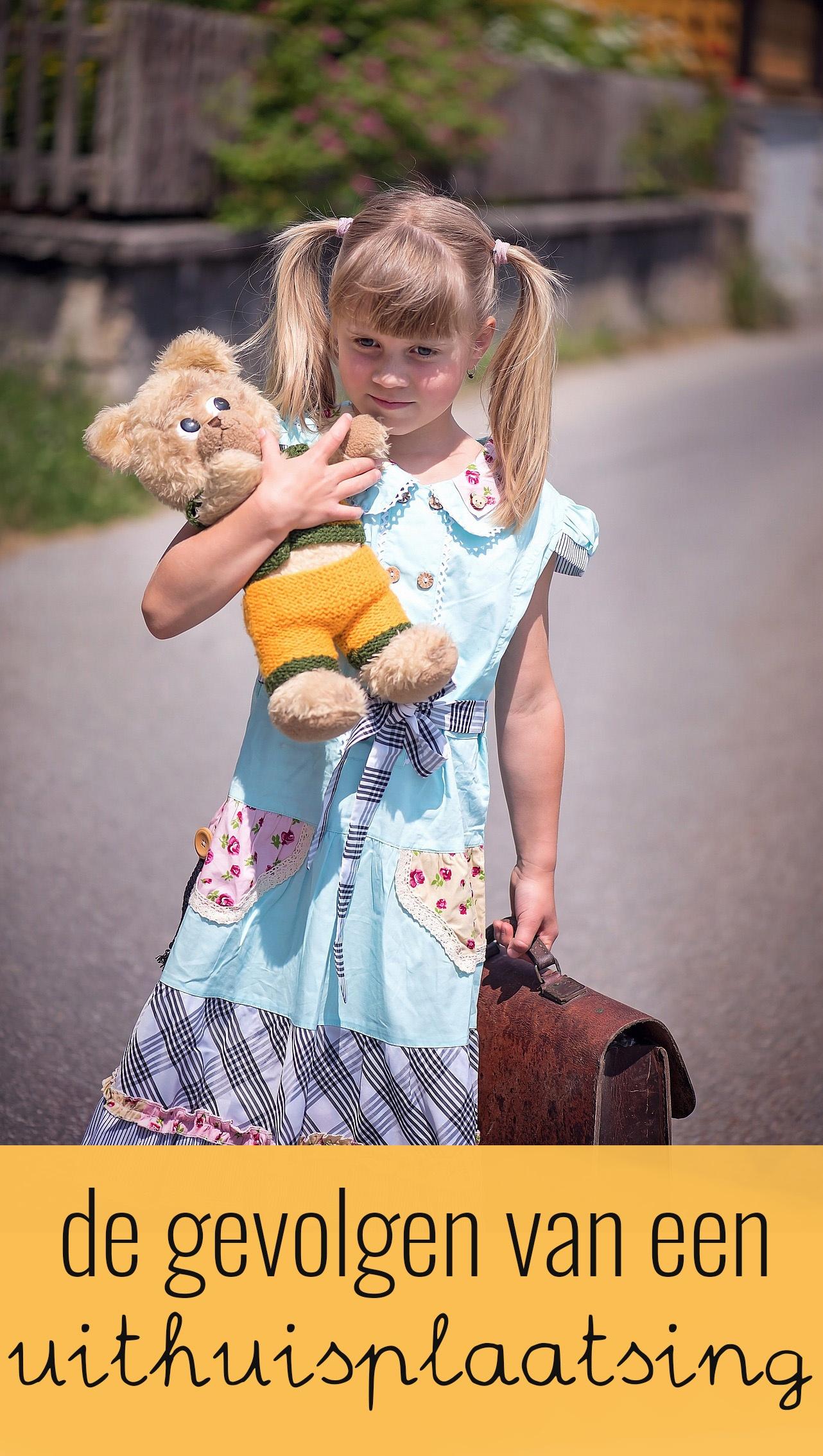 In 2011 hebben 20.000 kinderen voor korte of langere tijd gebruik gemaakt van pleegzorg. Wat zijn de gevolgen van een uithuisplaatsing voor het kind?