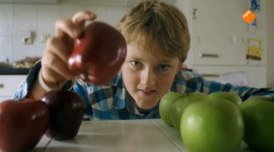 merlijn en de rode appel