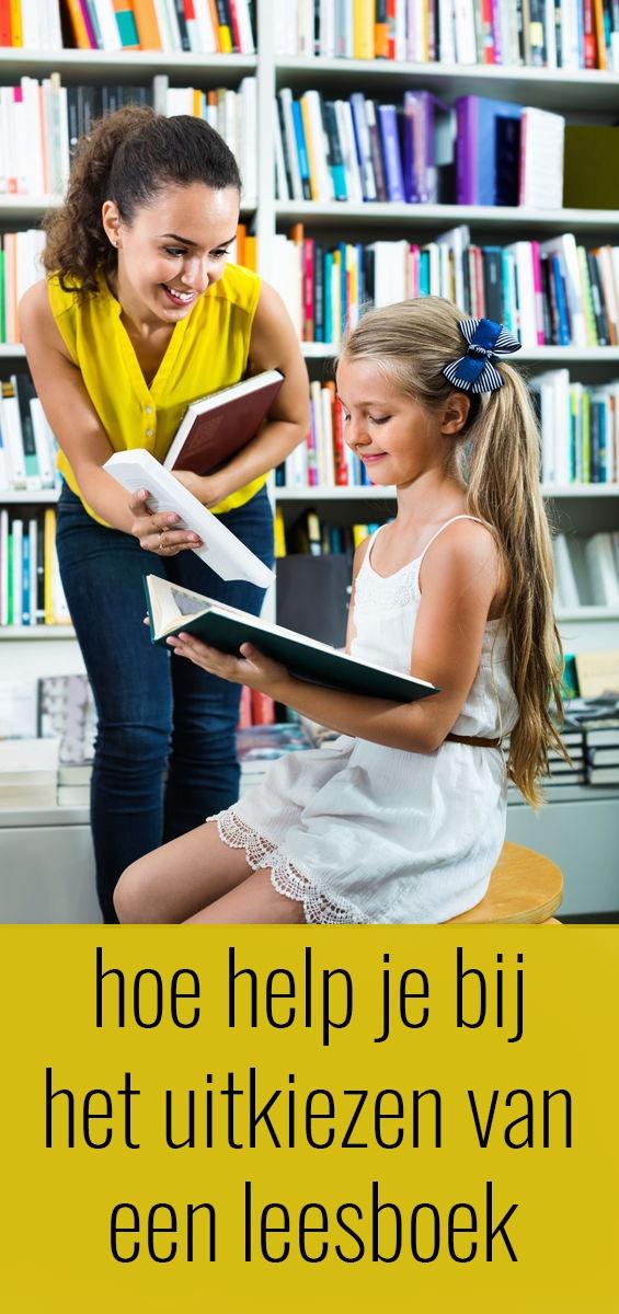 Kinderen helpen bij het uitzoeken van een goed leesboek