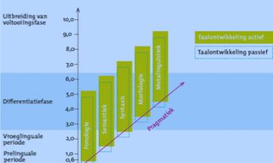Doorgaande Lijn in taalontwikkeling, Schaerlakens 2008