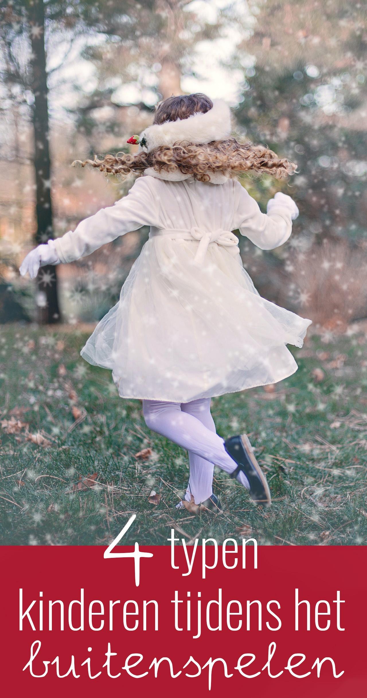 In dit artikel geef ik meer informatie over het verschil in buitenspel tussen sekse en benoem ik de verschillende typen kinderen tijdens het buitenspelen.