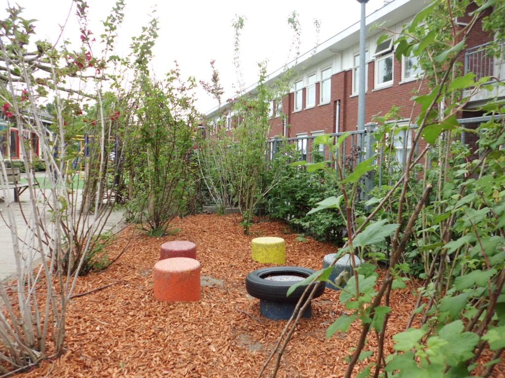 Lang leve het groene schoolplein!
