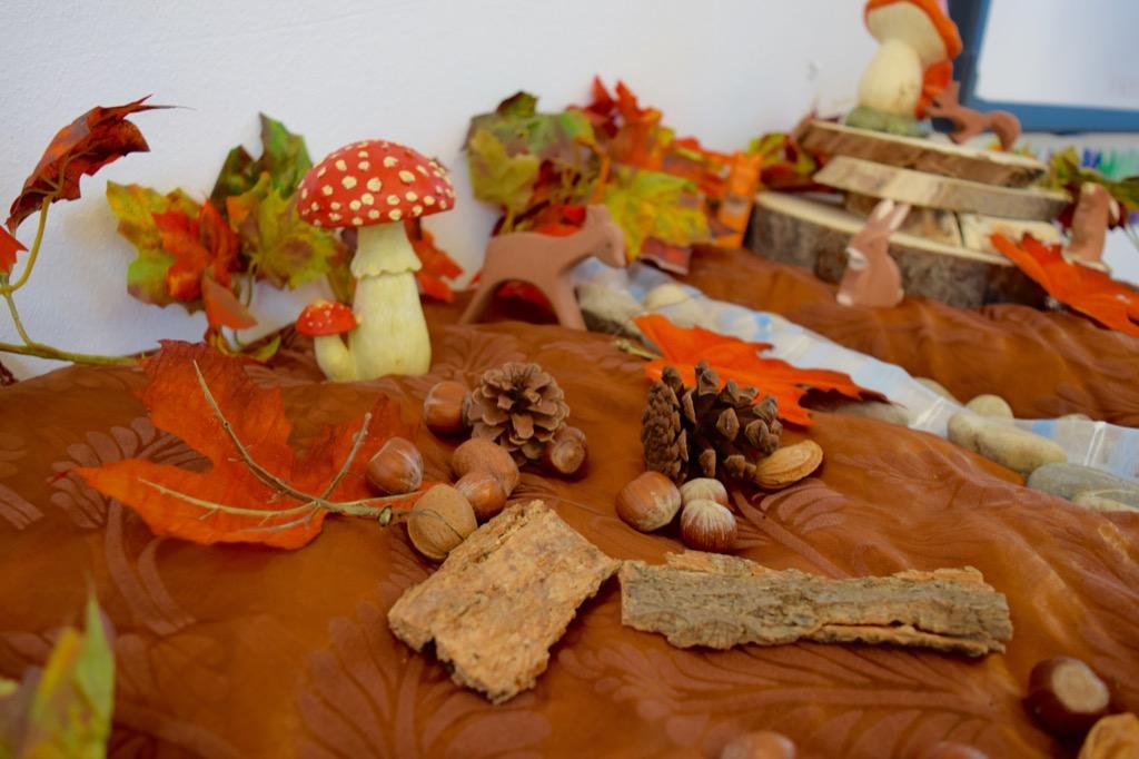 Speeltafel herfst