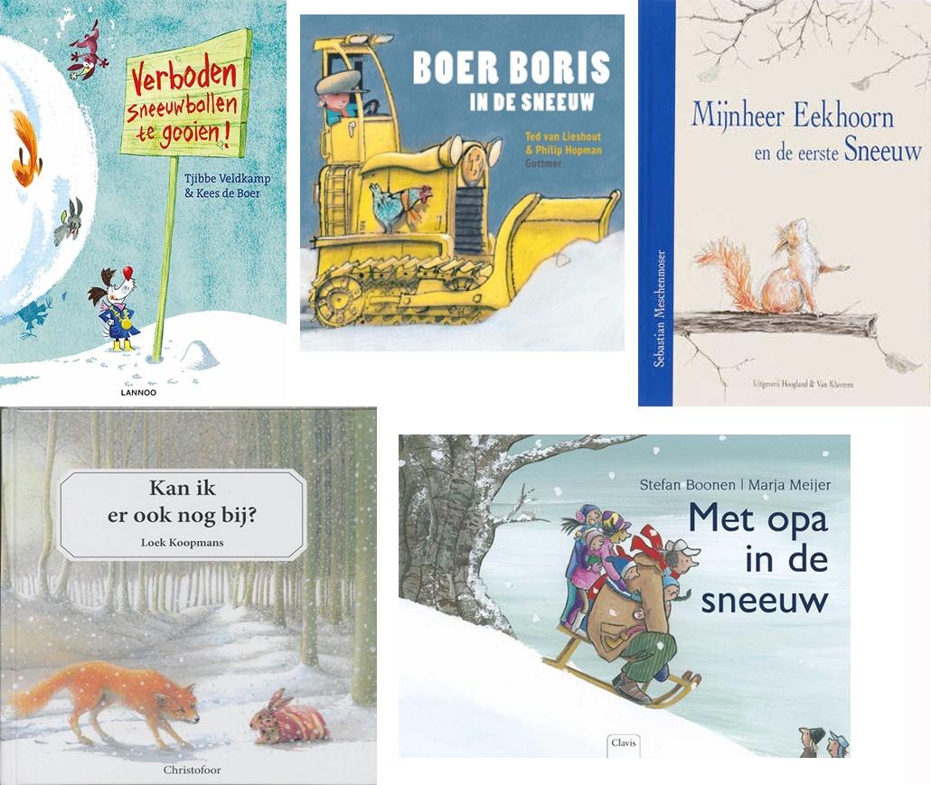 5 leuke prentenboek voor de winter