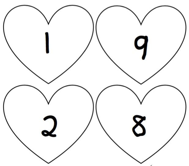 verliefde harten