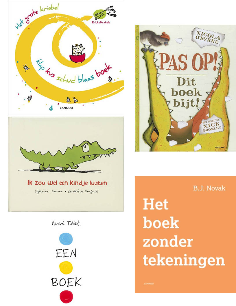 5 grappige prentenboeken voor kleuters