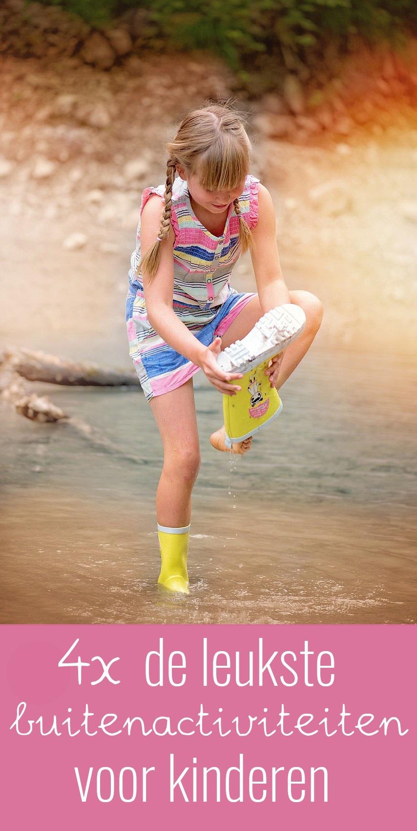 Kinderen moeten vaak gemotiveerd worden om buiten te spelen. Met deze leuke buitenactiviteiten voor kinderen moet dit geen enkel probleem meer zijn!