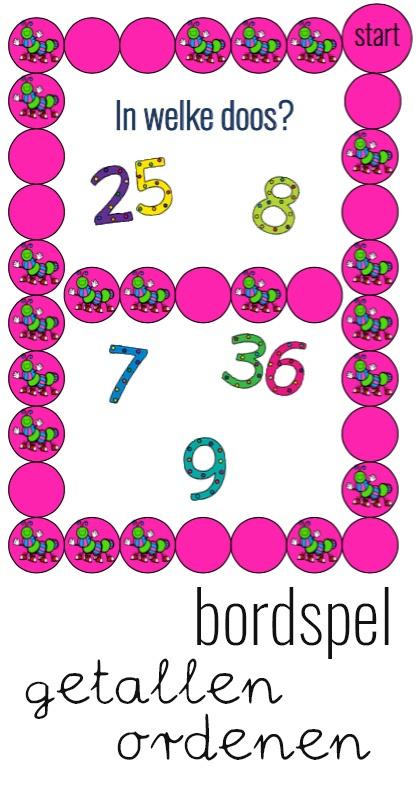 Rekenspel: cijfers ordenen