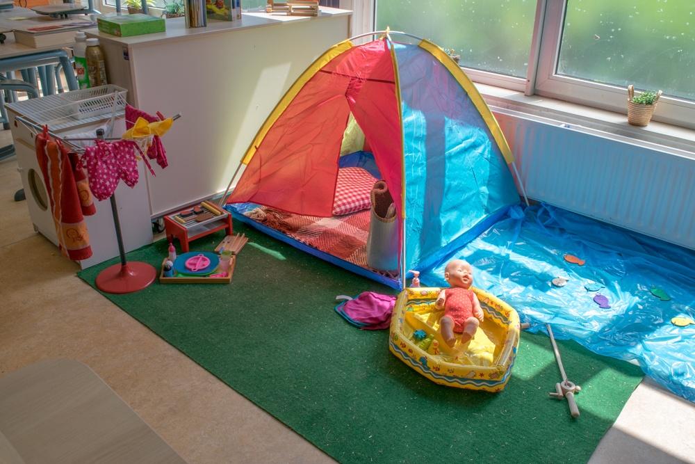 Themahoek: camping