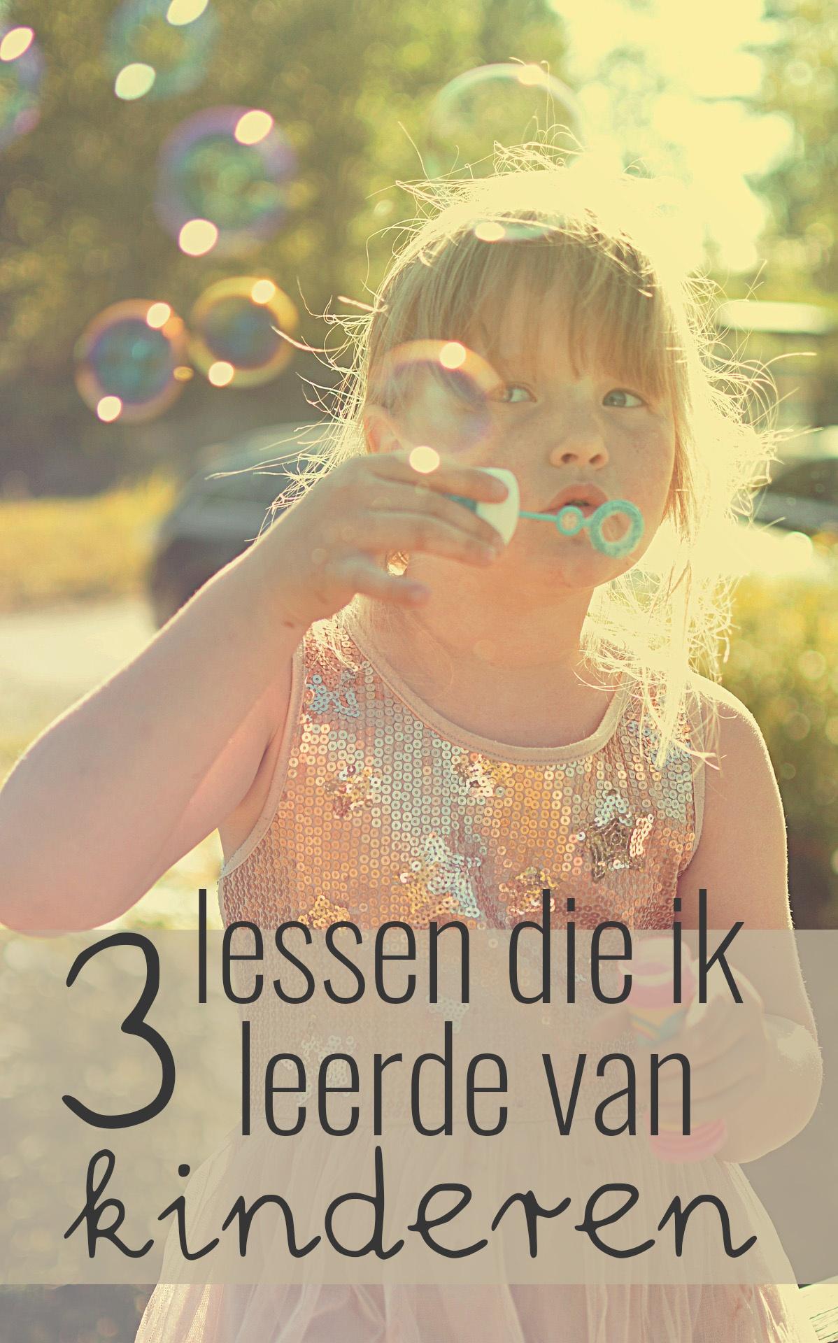 Als juf breng je een hoop kennis over op de kinderen, maar tegelijkertijd mag ik ook zoveel leren van hen. 3 lessen die ik leerde van kinderen.