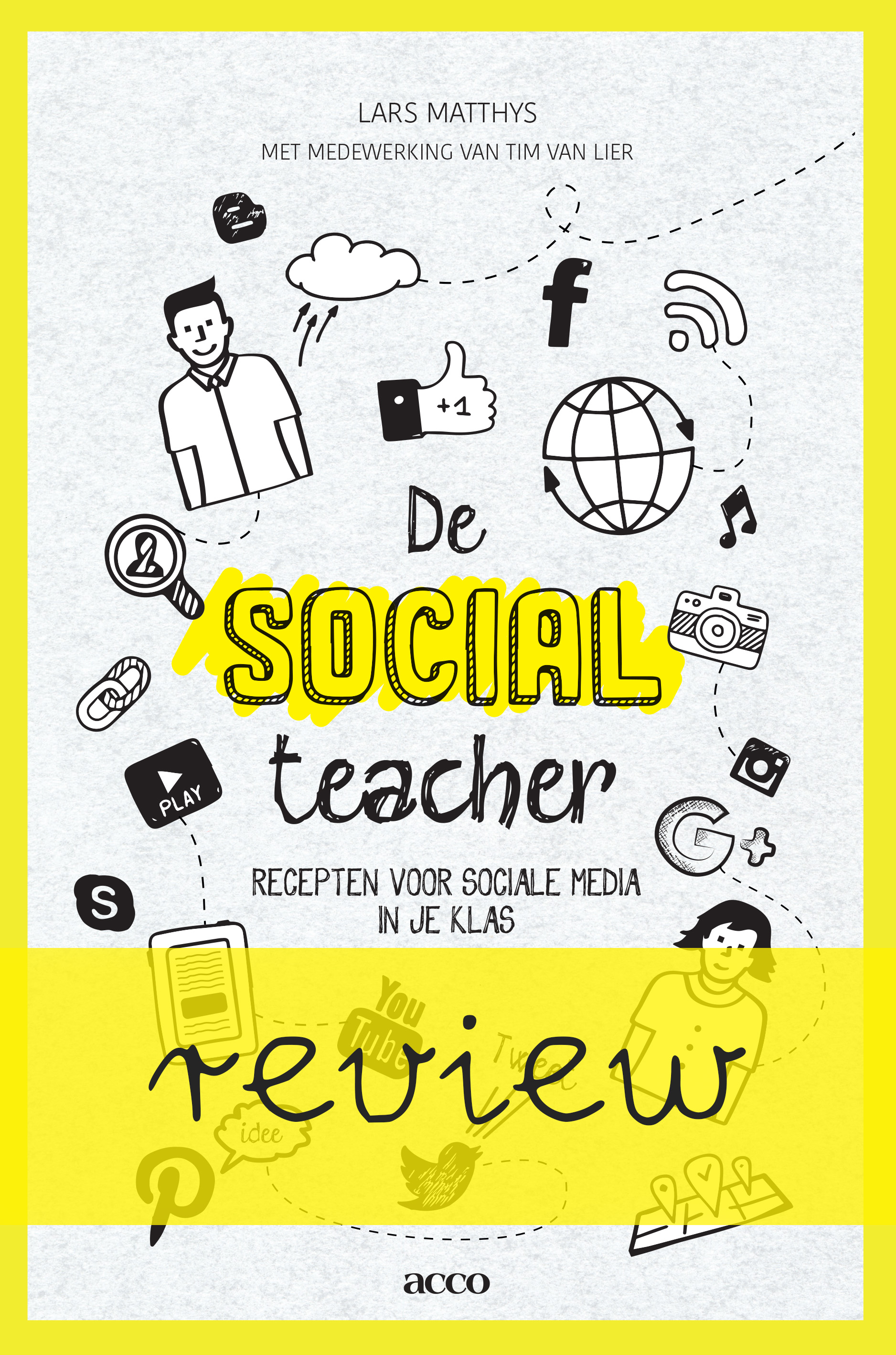 'De social teacher' deelt allerlei mogelijkheden en ideeën om social media in de lessen te integreren. Het boek is vooral geschikt voor de bovenbouw.