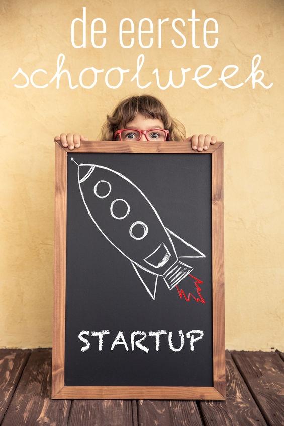De eerste schoolweek