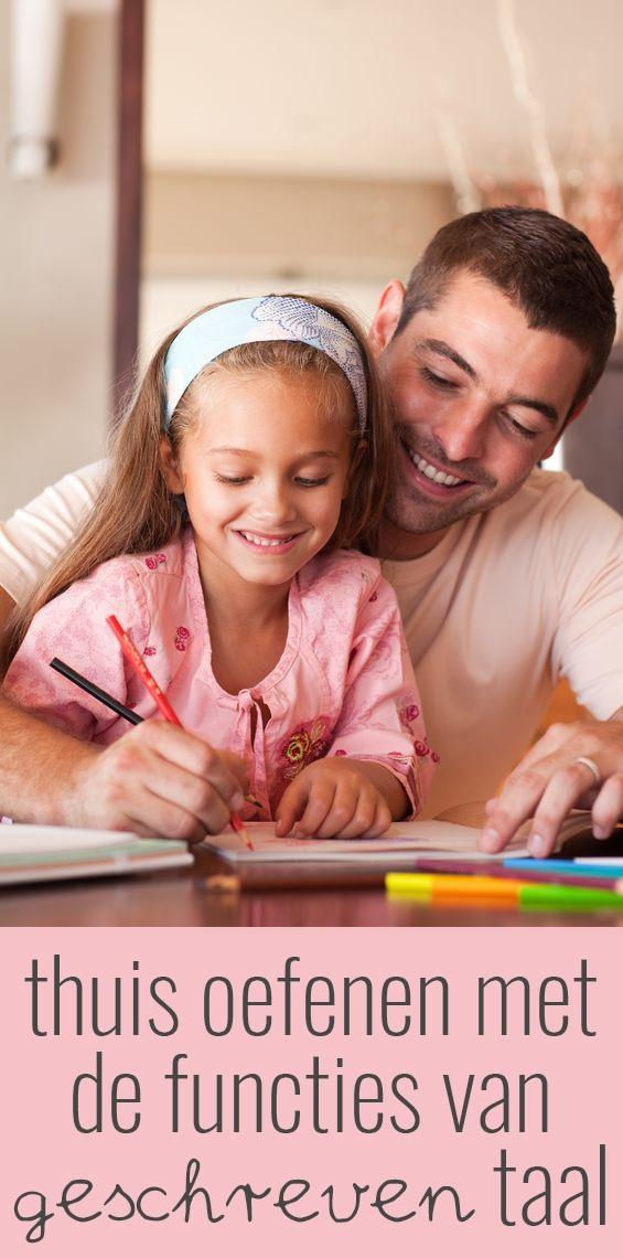Als ouder kun je de kinderen al op jonge leeftijd de functies van geschreven taal laten inzien. In deze blog wil ik je een aantal suggesties doen.