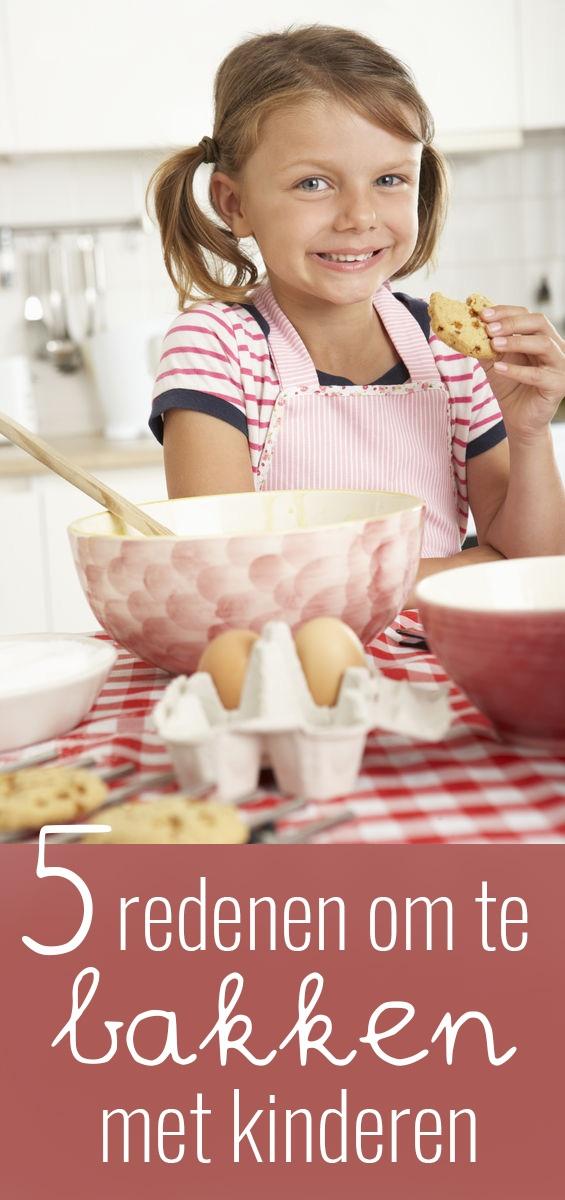 5 redenen om te bakken met kinderen