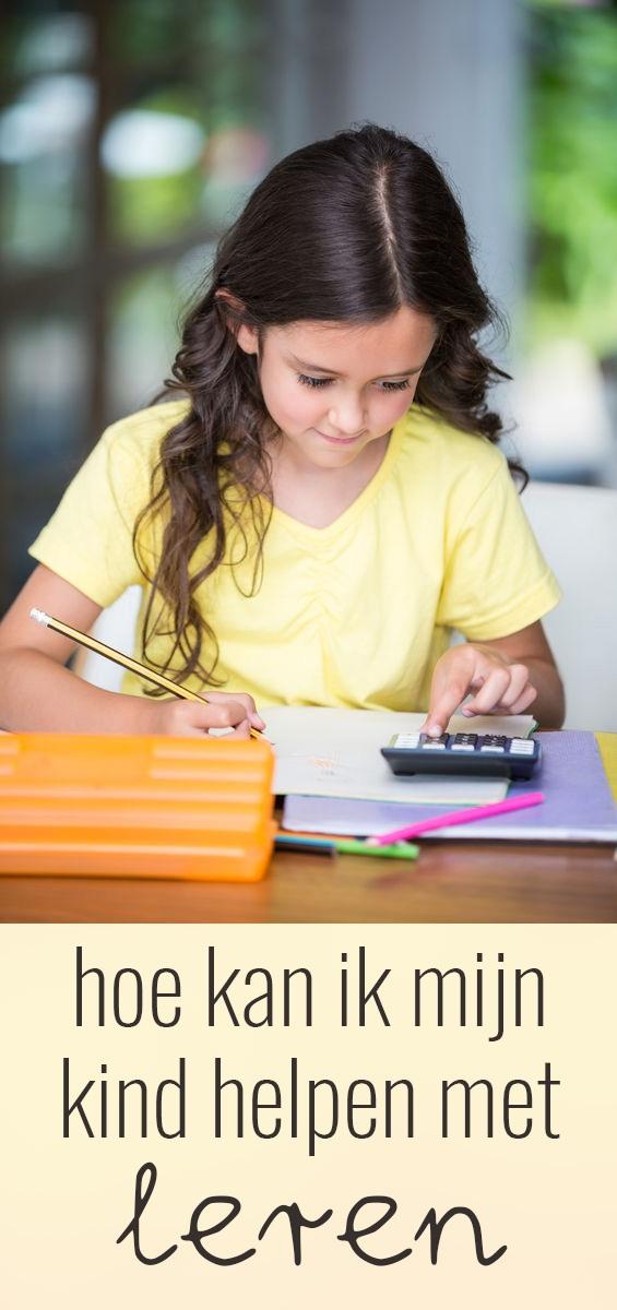 In deze blog geef ik drie tips hoe je kinderen kunt helpen met leren. Wees een goed voorbeeld, zorg voor een geschikte omgeving en help met ontspannen!