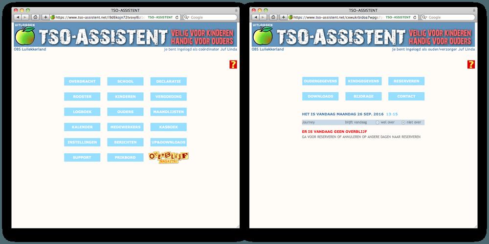 TSO-ASSISTENT: overblijfadministratie in een handomdraai