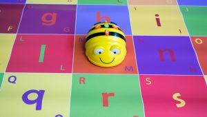 Bee bot lessugesties bij de ABC-mat