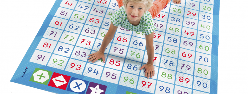 Spelenderwijs rekenen met de cijferspelmat