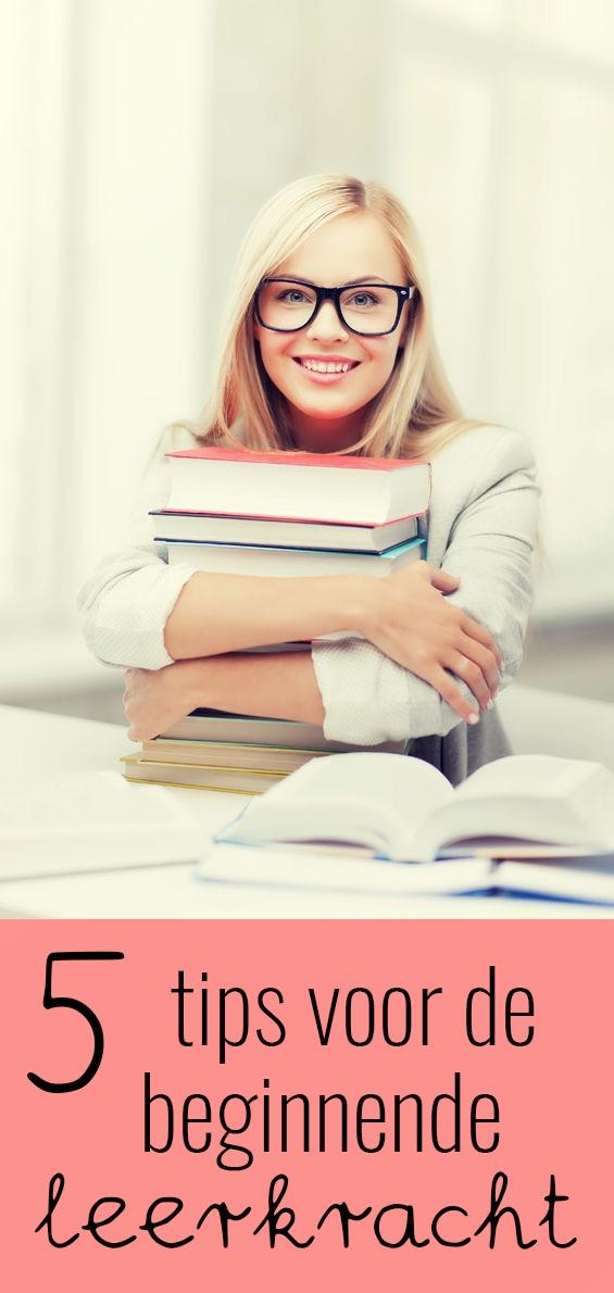 5 tips voor de beginnende leerkracht
