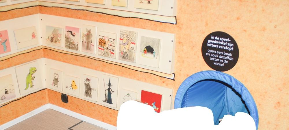 Naar het Kinderboekenmuseum in Den Haag