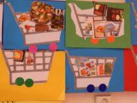 Thema supermarkt bij de kleuters