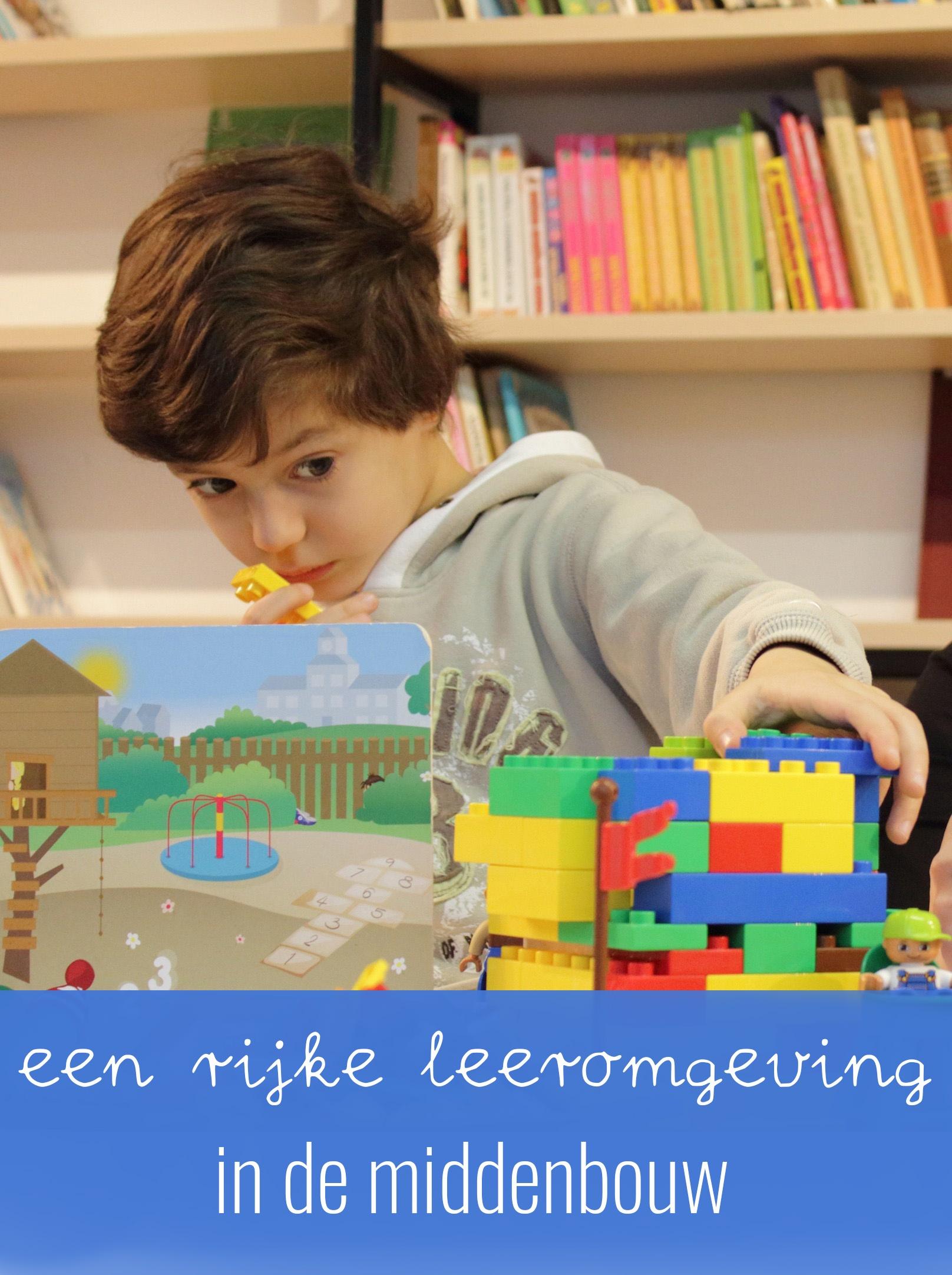 Een rijke leeromgeving in de middenbouw