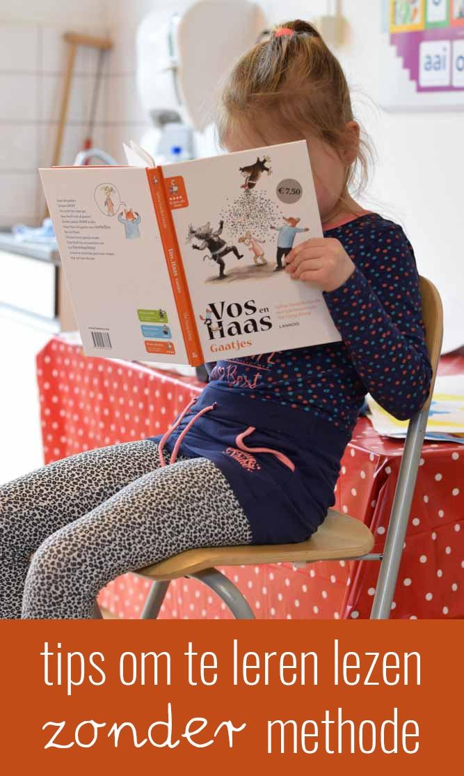 Tips om te leren lezen zonder methode