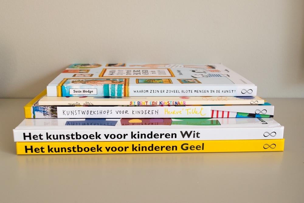 5x leuke boeken over het thema kunst