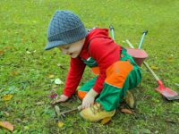 Thema tuincentrum bij de kleuters