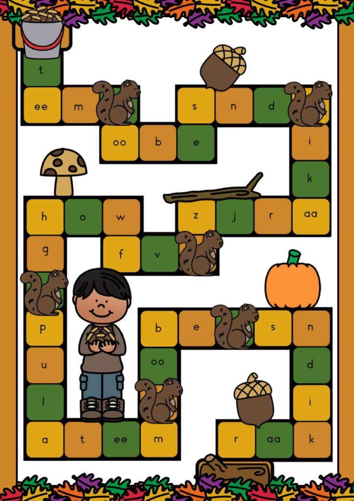 thema herfst spellen