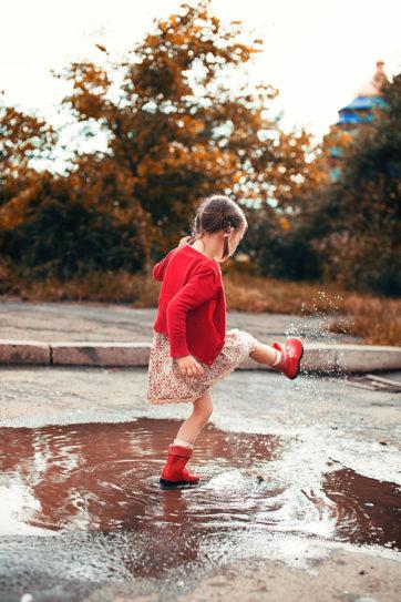 Spelenderwijs leren in de herfst