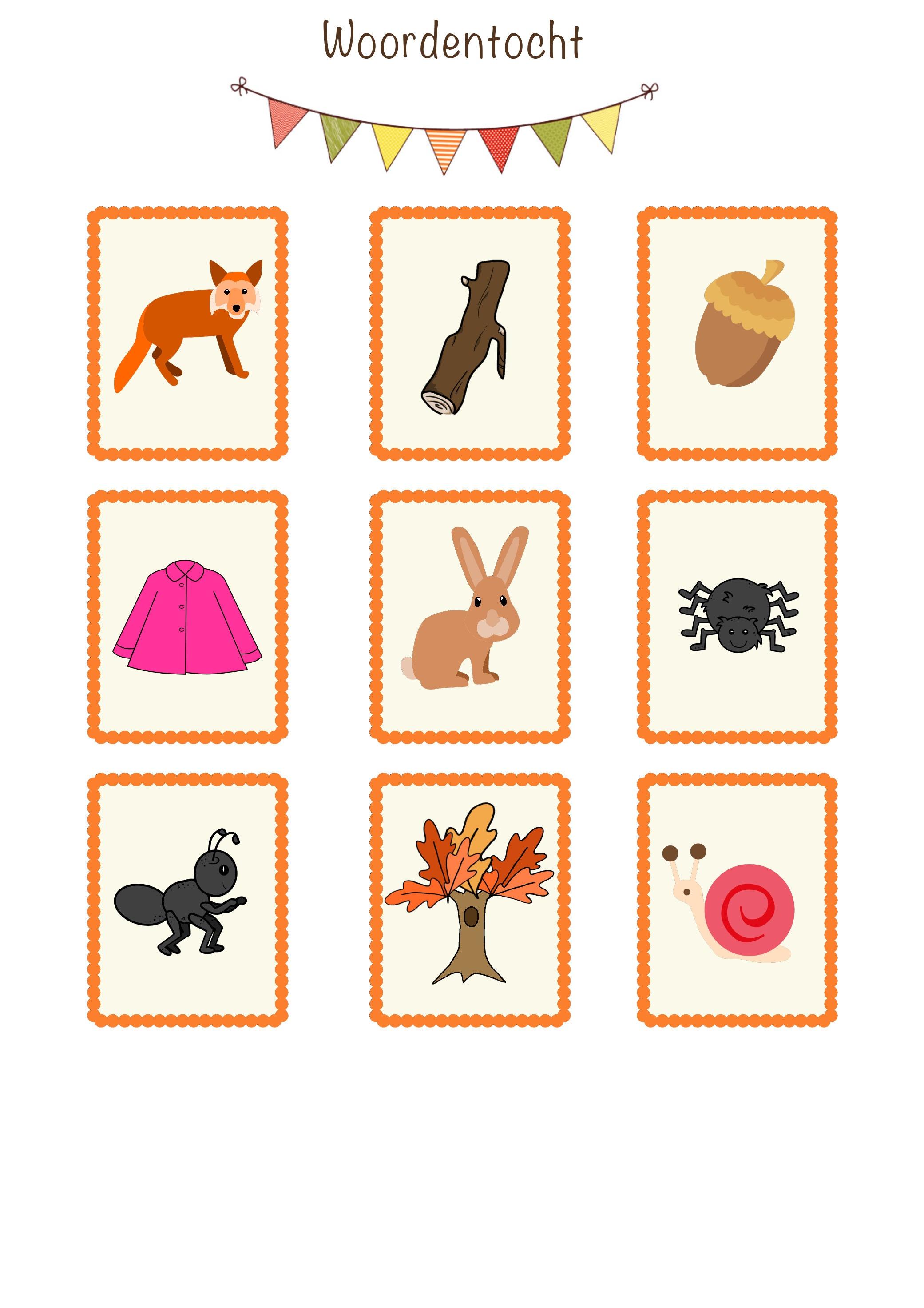 Themabundel 'Spelenderwijs leren in de herfst'