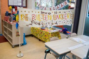 Pietenbakkerij thema Sinterklaas