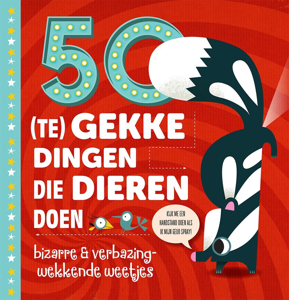 Boekentip: 50 (te) gekke dingen die dieren doen