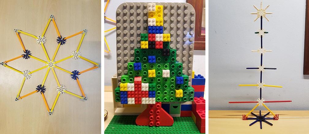 kerst bouwen