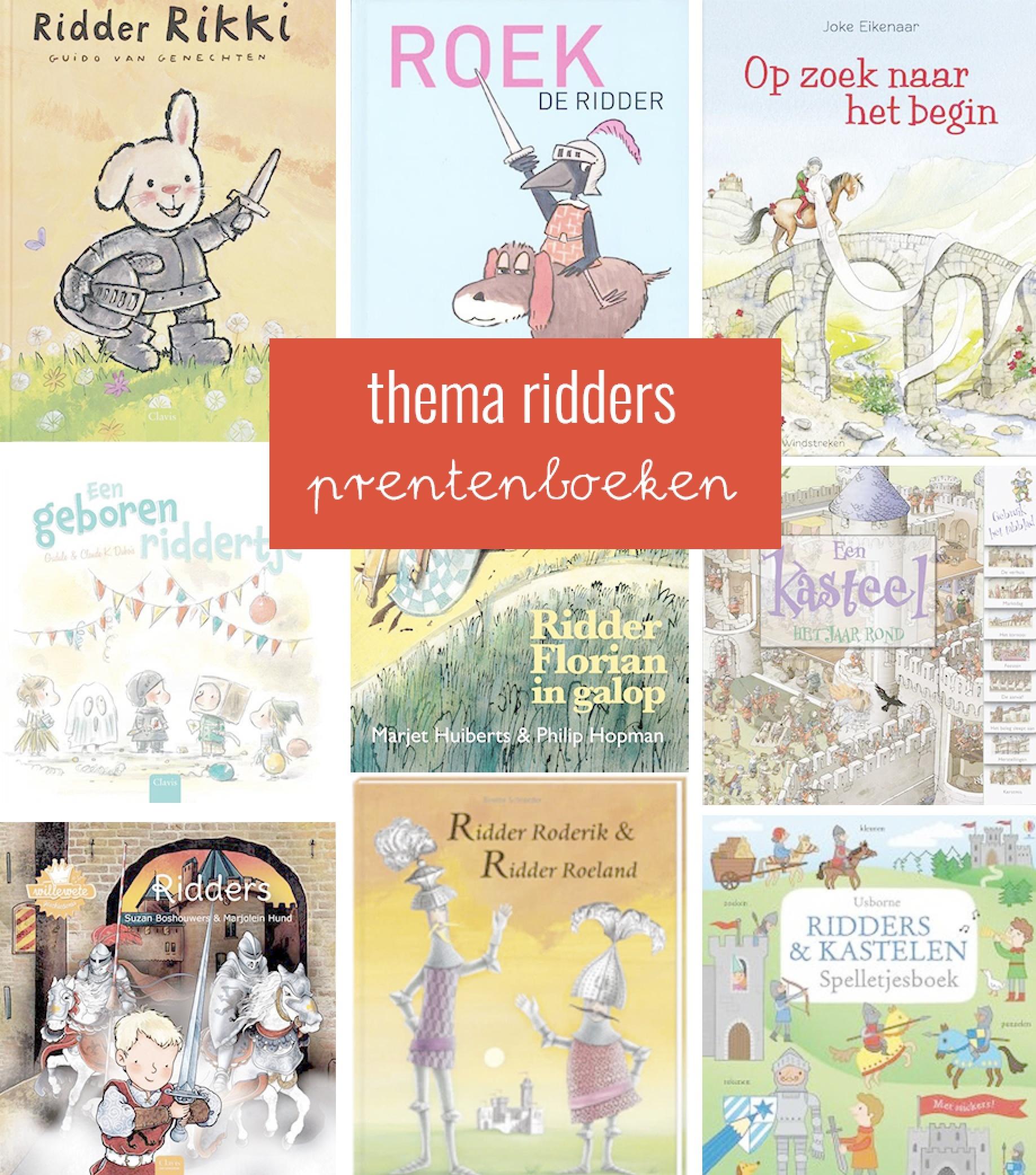 Prentenboeken thema ridders