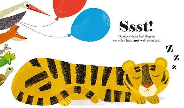 Boekentip: Ssst! De tijger slaapt