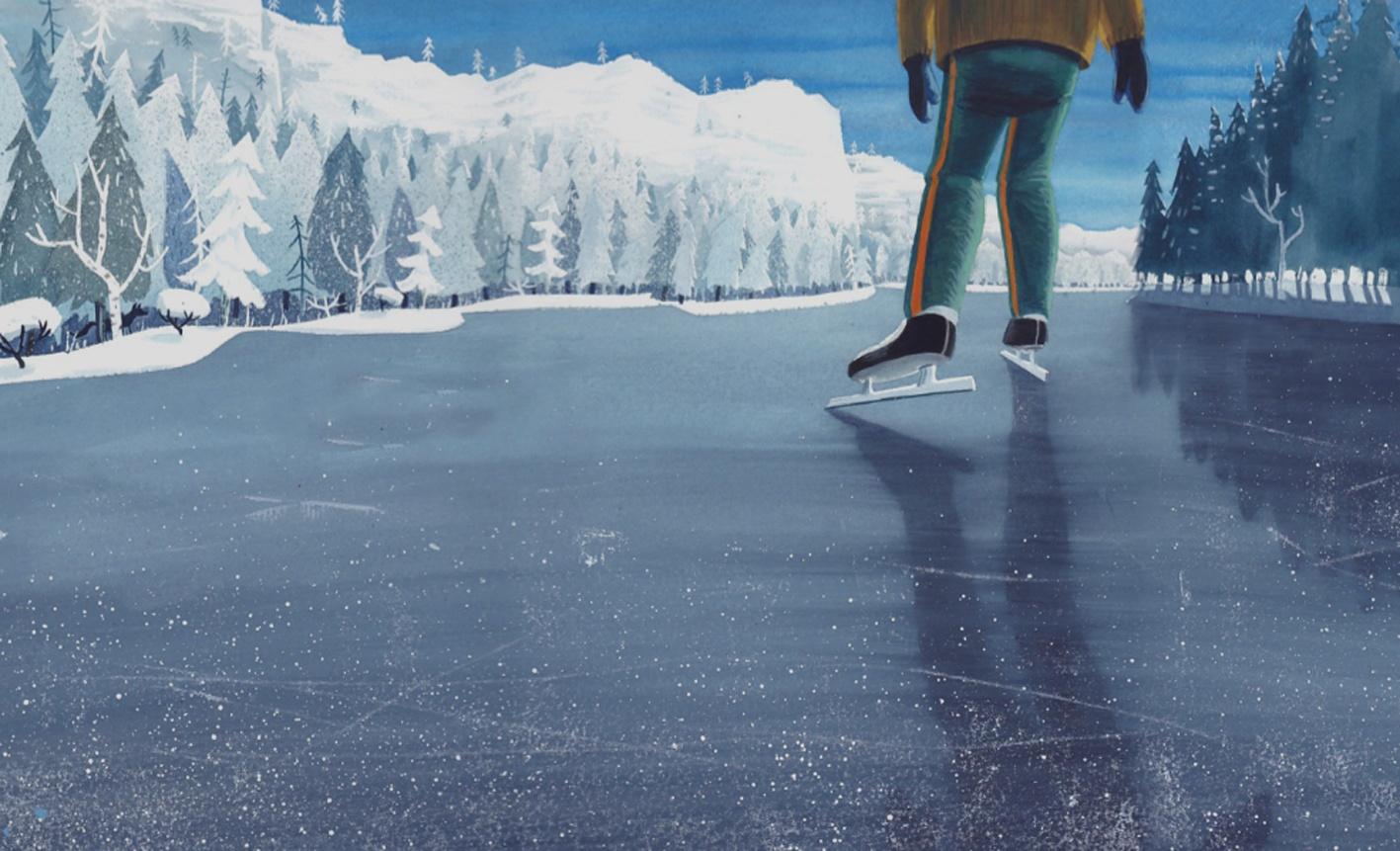 Boekentip: De jongen die met de dieren schaatste