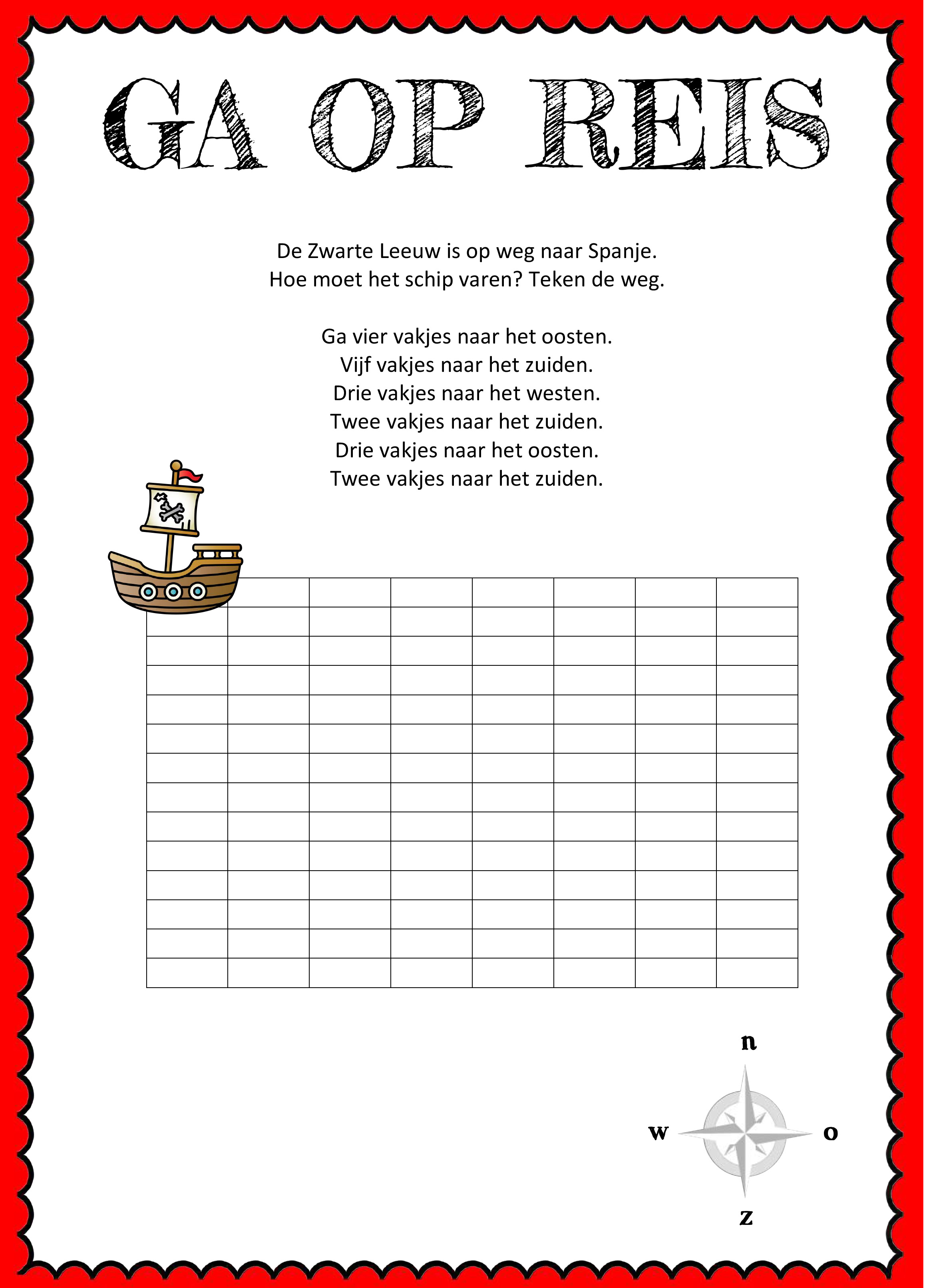 Piraten werkboekje