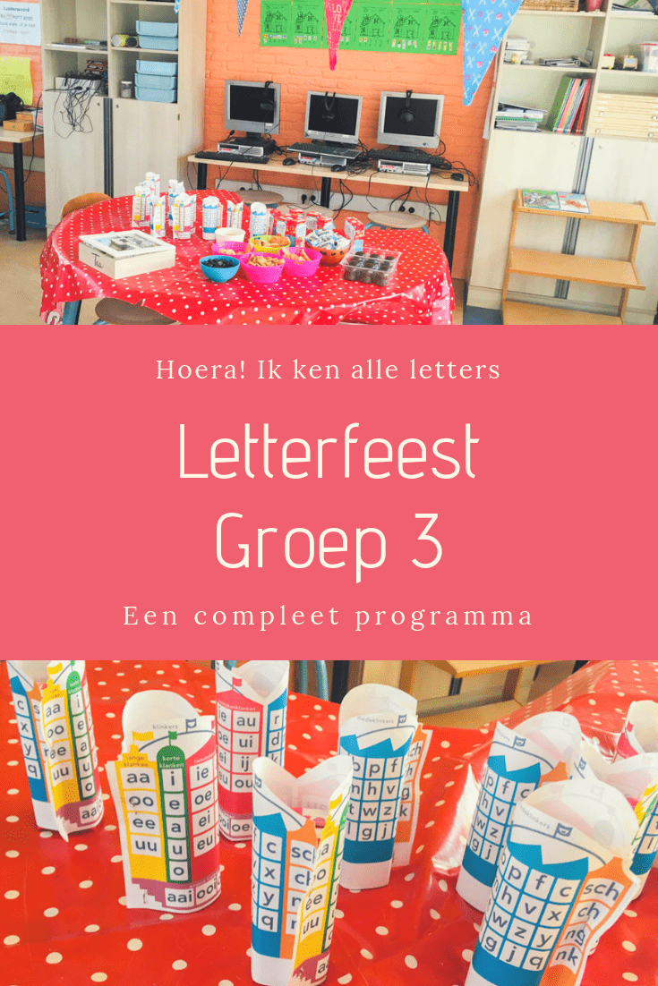 Letterfeest in groep 3