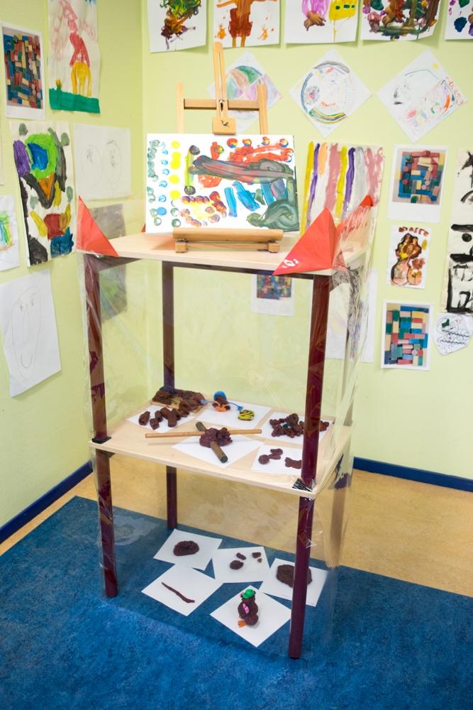 Thema kunst bij de kleuters