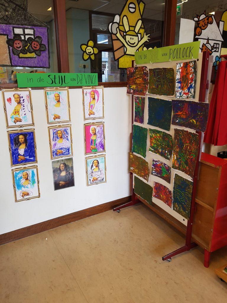 Genoeg Een hele kunst! - thema kunst met kleuters | Klas van juf Linda &YV51