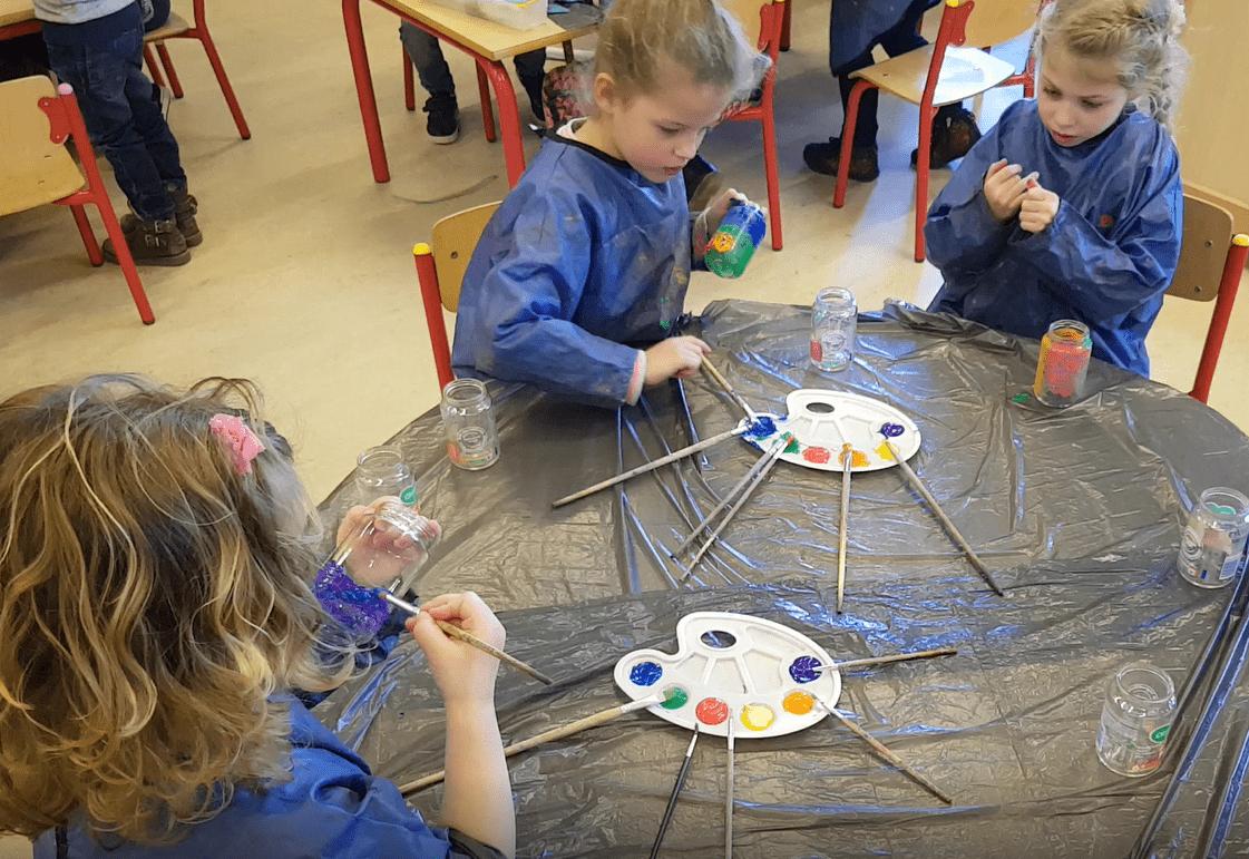 Een hele kunst! – thema kunst met kleuters