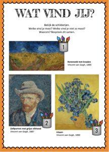 Vincent van gogh plusboekje