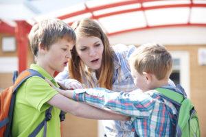 Wat doe je als een kind een regel niet opvolgt?
